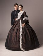 suknia z 1840 roku