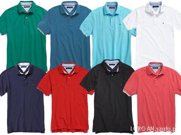 98382eb68 Koszulka POLO TOMMY HILFIGER lacoste nowe M L XL w Koszulki i t ...