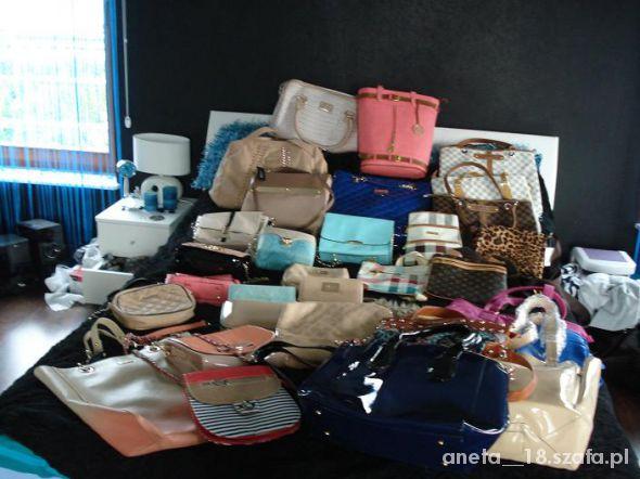 moje wszystkie torebki