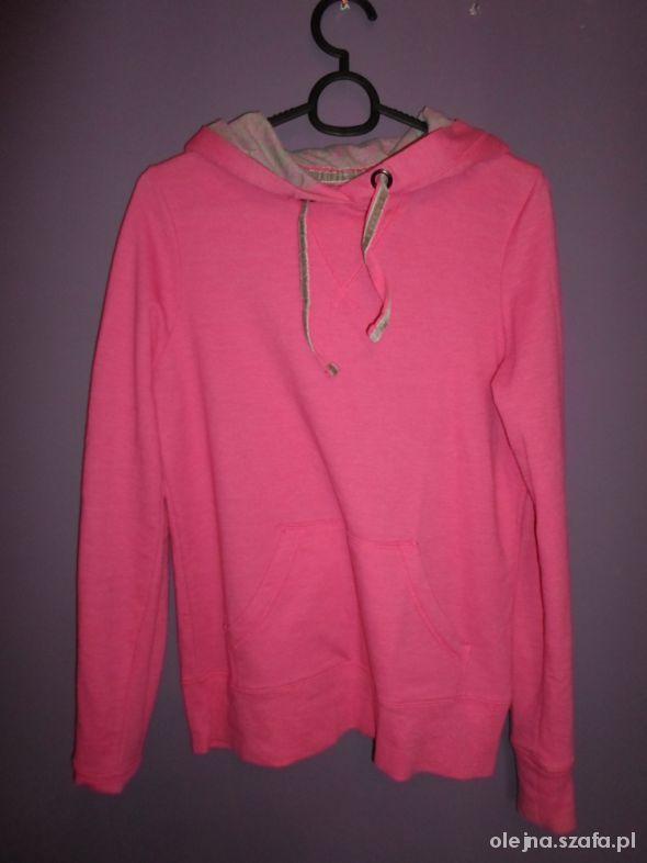 Neonowa różowa bluza denim co