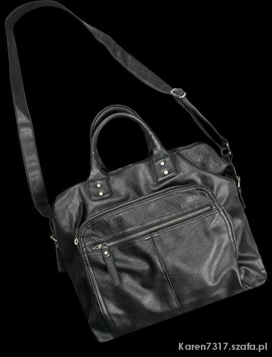 Dodatki torebka diverse czarna
