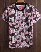 Koszulka w róże SUPREME
