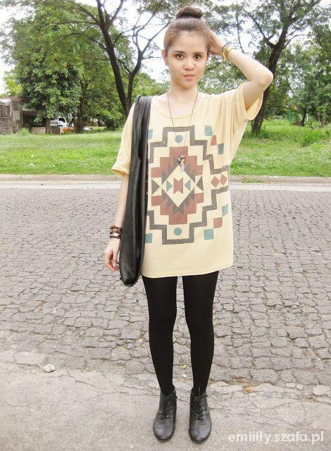 Ubrania LoveHate aztec