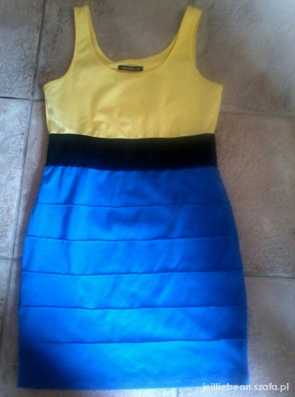 sukienka new yorker bandażowa