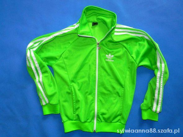 Bluzy ADIDAS bluza LOGO green