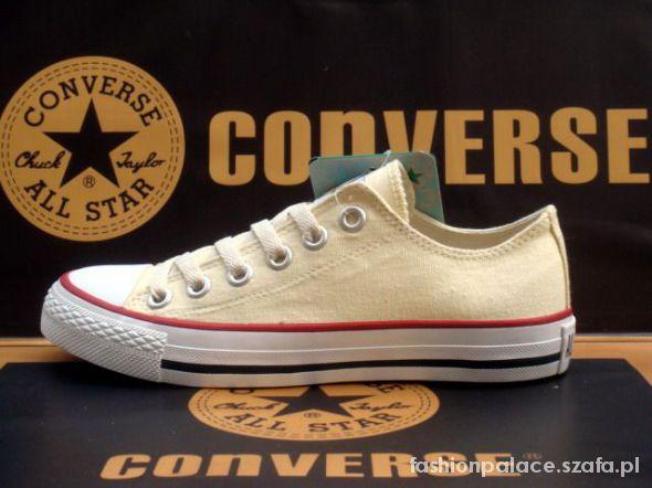 Converse All Star Chuck Taylor Beżowe Niskie 38 w Trampki