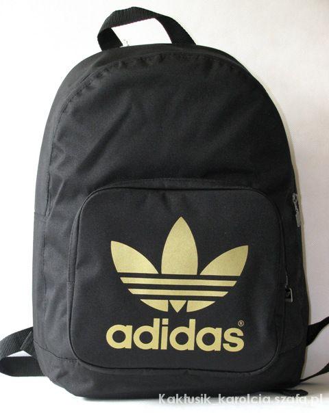 169a7bbdef5be czarno złoty plecak adidas w Dodatki - Szafa.pl