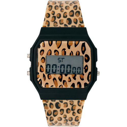 river island leopard watch
