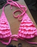 Neonowy strój kąpielowy bikini różowy Butik
