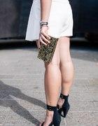 spódnico spodenki Zara Basic White...