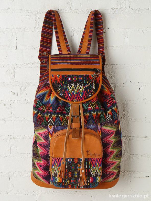 Dodatki Skórzany plecak
