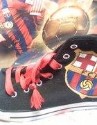 Trampki FC Barcelona ręcznie malowane diy...