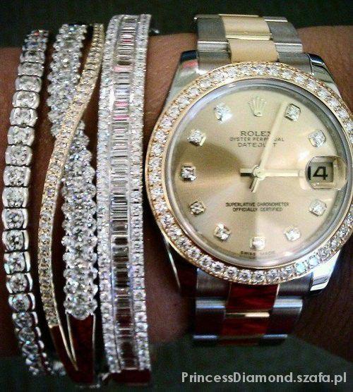 Mój styl Śliczny Zegarek i Bransoletki