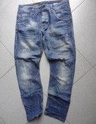 Wycierane jeansy ZARA