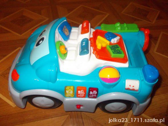 Zabawki duzy dwujezyczny samochód chicco
