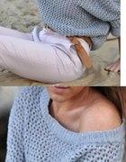 Sweterek oversize na wymiane