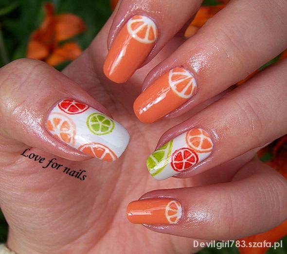 Pomarańcze...