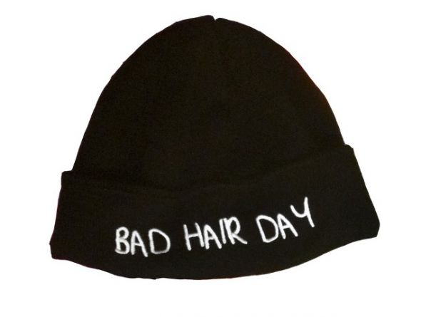 Beanie LOCAL HEROES BAD HAIR DAY...