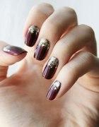 glam nails...