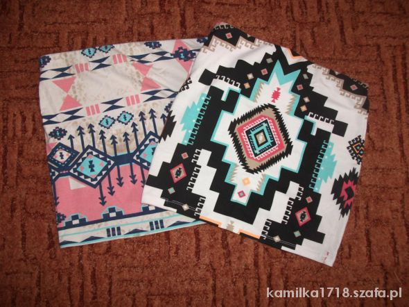Spódniczki bershka aztec