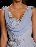 niebieska sukienka BM