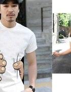 HIT Koszulka BIG HAND duża ręka damska L