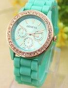 zegarek Geneva miętowy