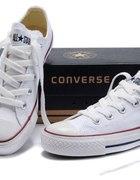 Białe niskie Converse 38