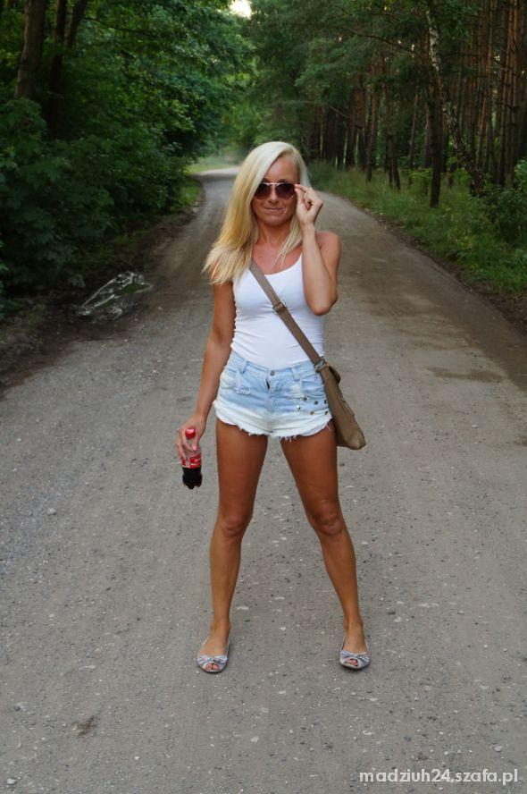 Mój styl Jeansowe spodenki