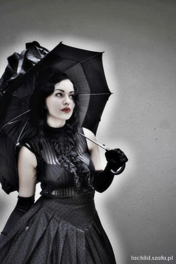 Goth Gothic victorian outfit
