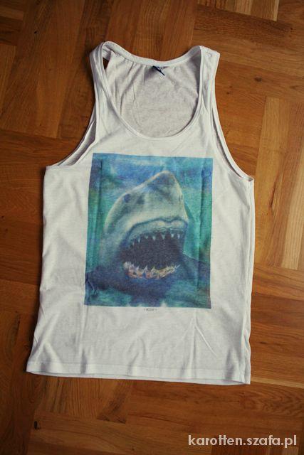 bokserka HandM rekin jaws shark swag