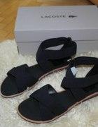 lacoste luceme skórzane sandały...