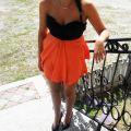 sukienka gorsetowa