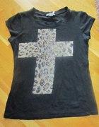 bluzka z krzyżem