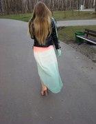 Spódnica AMISU asymetryczna ombre...