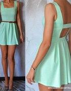 Miętowa sukienka Mosquito S