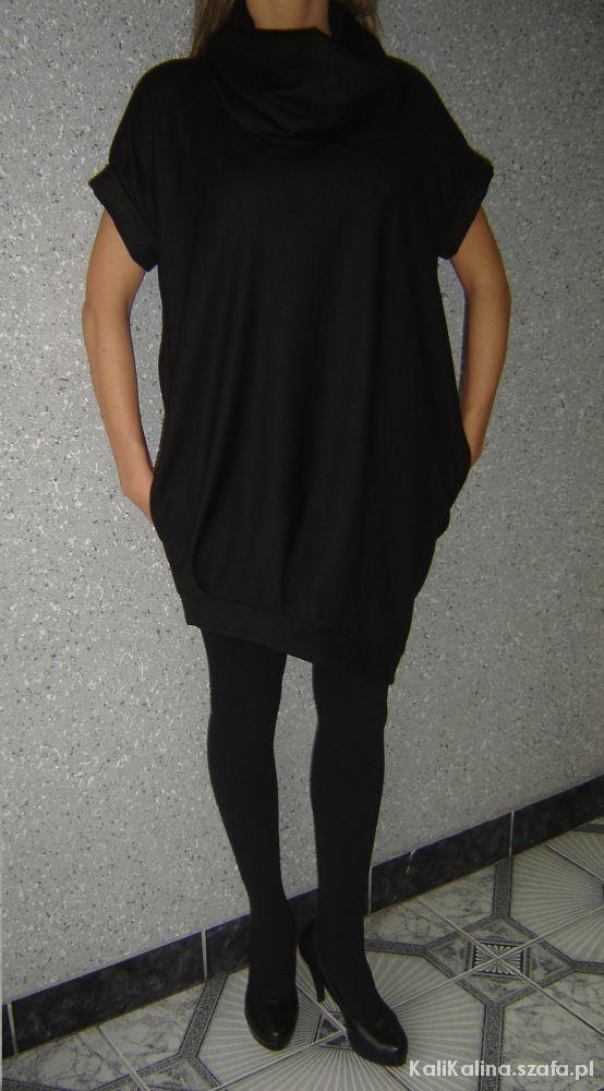8b72a0ae07 imperial włoska elegancka sukienka tunika w Suknie i sukienki - Szafa.pl