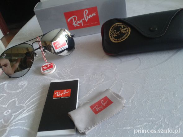 Okulary okulary Ray Ban lustrzanki