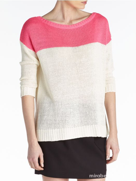 Sweter dwukolorowy RESERVED