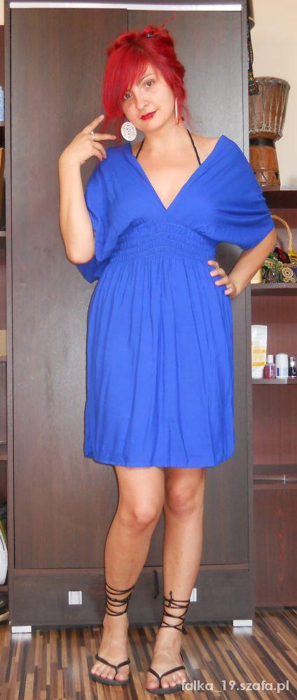 Mój styl Chabrowa sukienka