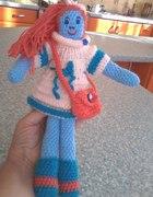 Szydełkowa lalka blue...