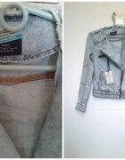 Zara ramoneska jeansowa