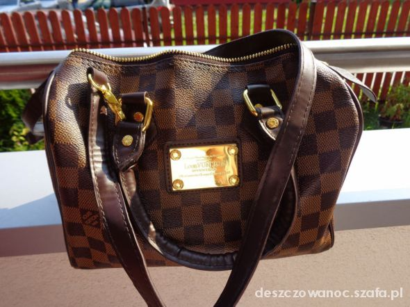 LOUIS VUITTON LV monogram listonoszka chanelka