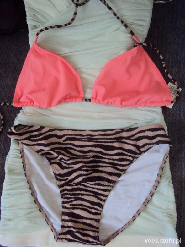 Atmosphere bikini morelowe zebra Primark