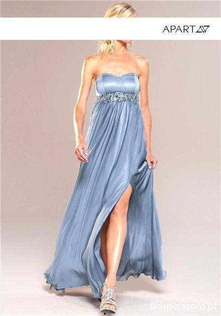 Apart Impressions Wieczorowa Suknia Niebieska...