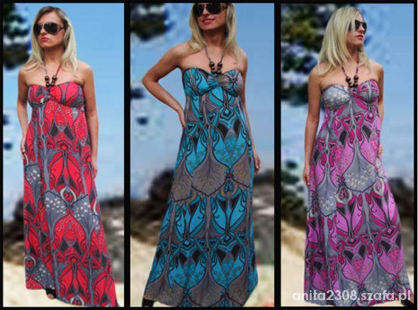 Ubrania maxi sukienka