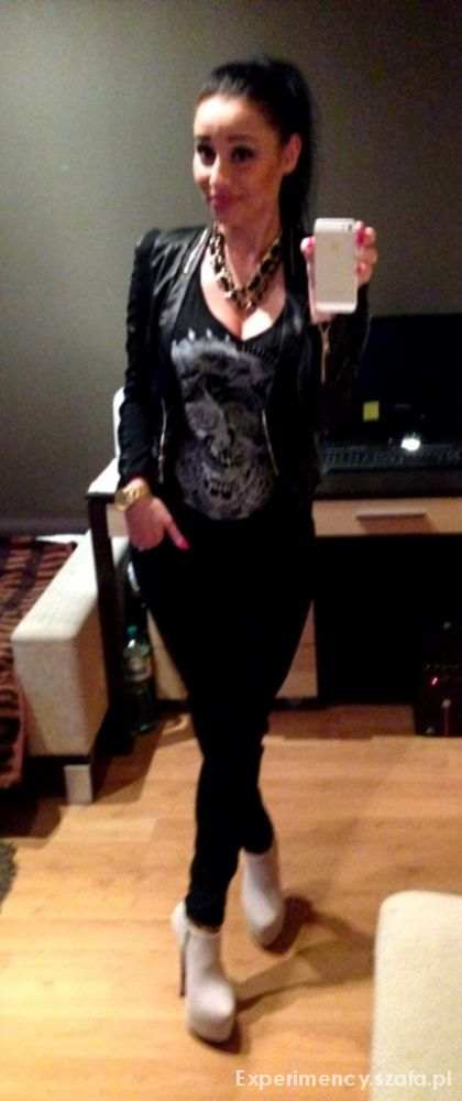 Imprezowe Black Chanel