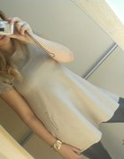 Moje zestawienieskórzane legginsy i tunika