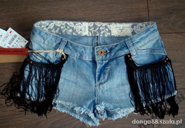 Spodenki jeans Pull&Bear rozmiar 36