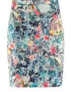 HM spódniczka kwiaty flower print...